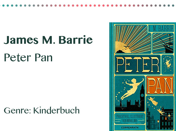 rezensionen__0005_James M. Barrie Peter Pan Genre_ Kinderbuch