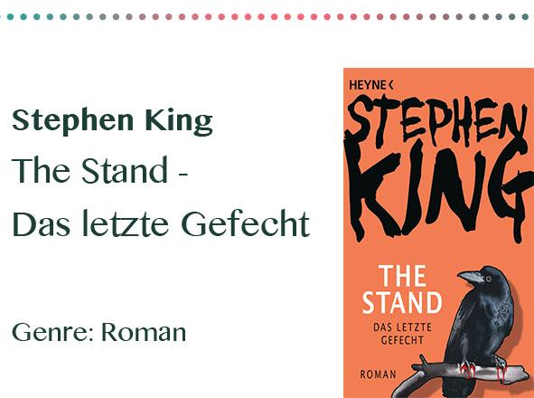 rezensionen__0006_Stephen King The Stand - Das letzte Gefecht Genre_ Roman