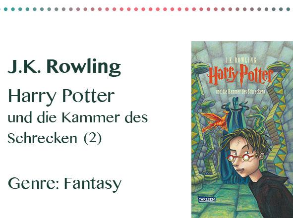 rezensionen__0025_J.K. Rowling Harry Potter und die Kammer des Schrecken Genre_