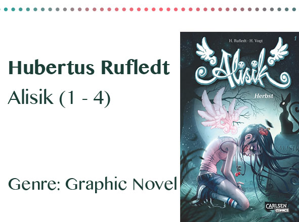 rezensionen__0027_Hubertus Rufledt Alisik (1 - 4) Genre_ Graphic Novel