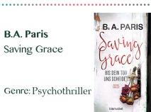 rezensionen__0036_B.A. Paris Saving Grace Genre_ Psychothiller