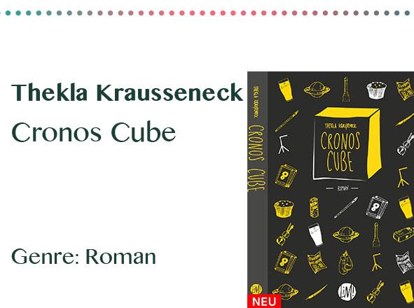 rezensionen__0051_Thekla Krausseneck Cronos Cube Genre_ Roman