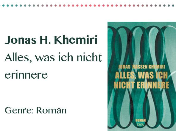 rezensionen__0052_Jonas H. Khemiri Alles, was ich nicht erinnere Genre_ Roman