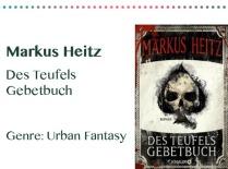 rezensionen__0055_Markus Heitz Des Teufels Gebetbuch Genre_ Urban Fantasy