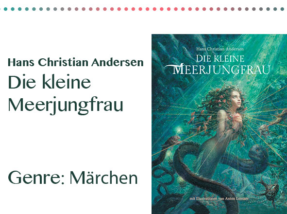 rezensionen__0080_Hans Christian Andersen Die kleine Meerjungfrau Genre_ Märche