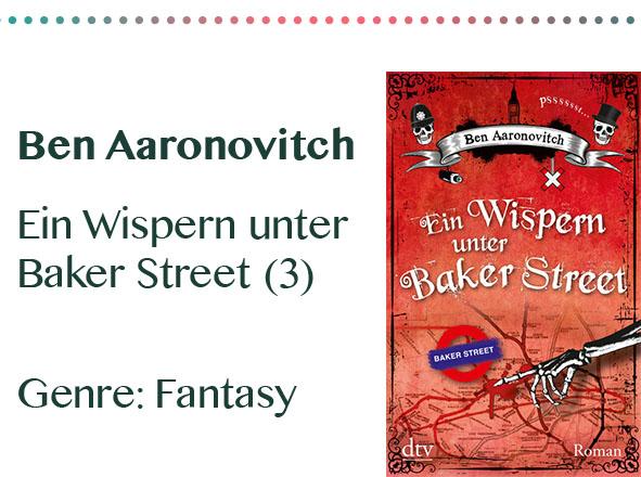 rezensionen__0083_Ben Aaronovitch Ein Wispern unter Baker Street (3) Genre_ Fan
