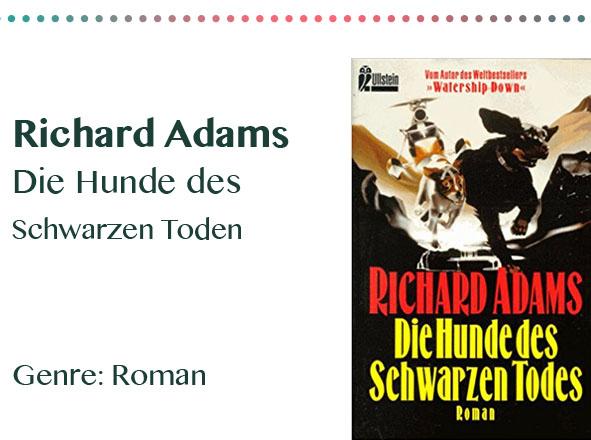 rezensionen__0006_Richard Adams Die Hunde des Schwarzen Toden Genre_ Roman