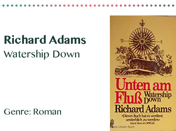 rezensionen__0007_Richard Adams Watership Down Genre_ Roman