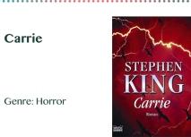 Carrie Genre_ Horror