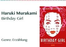 Haruki Murakami Birthday Girl Genre_ Erzählung