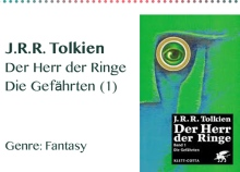 J.R.R. Tolkien Der Herr der Ringe Die Gefährten (1) Genre_ Fa