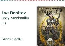 Joe Benitez Lady Mechanika (1) Genre_ Comic
