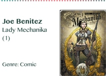 Joe Benitez Lady Mechanika (1) Genre_ Comic