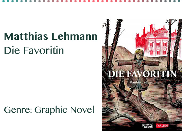Matthias Lehmann Die Favoritin Genre_ Graphic Novel