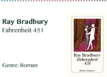 Ray Bradbury Fahrenheit 451 Genre_ Roman