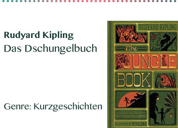 Rudyard Kipling Das Dschungelbuch Genre_ Kurzgeschichten