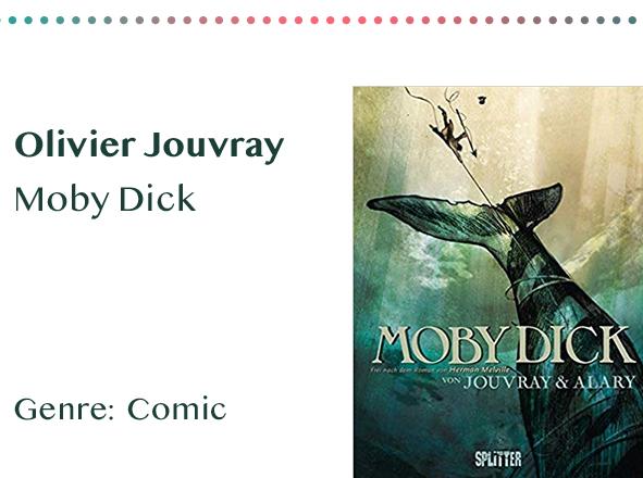 sammlung_rezensionen_0006_Olivier Jouvray Moby Dick Genre_ Comic Kopie