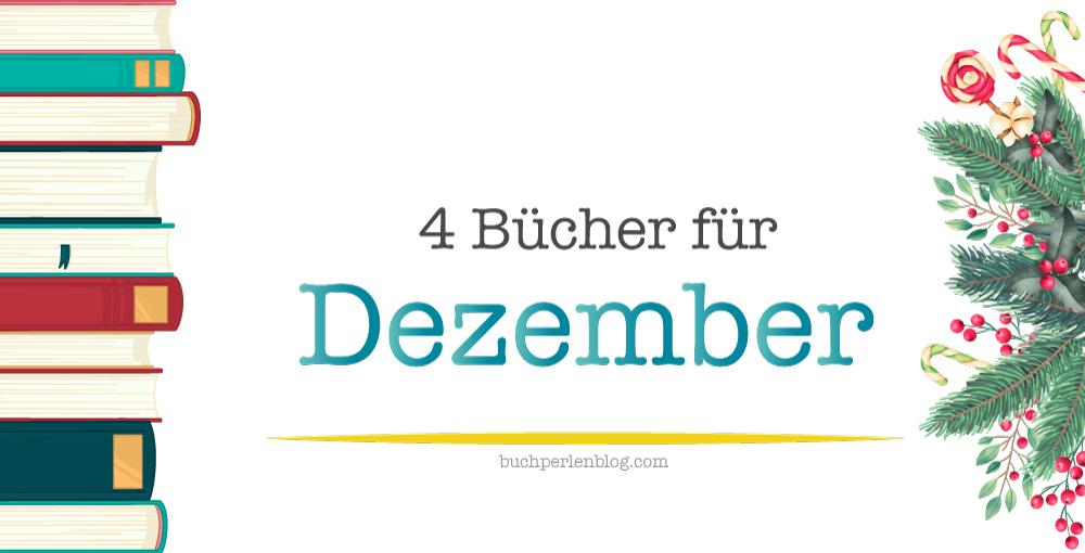 [Neuerscheinungen] 4 Bücher für Dezember