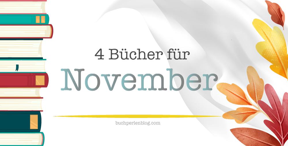 [Neuerscheinungen] 4 Bücher für November