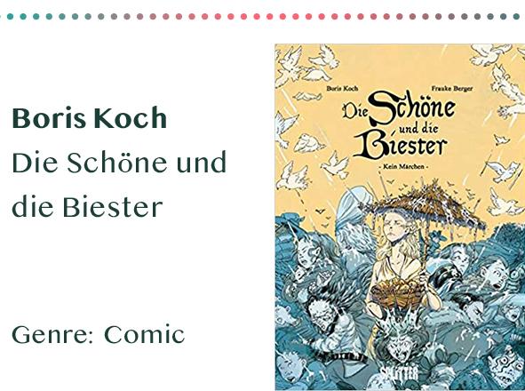 sammlung_rezensionen__0014_Boris Koch Die Schöne und die Biester Genre_ Comic Kopie