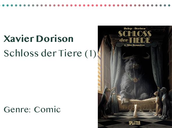 sammlung_rezensionen__0016_Xavier Dorison Schloss der Tiere (1) Genre_ Comic Kopie