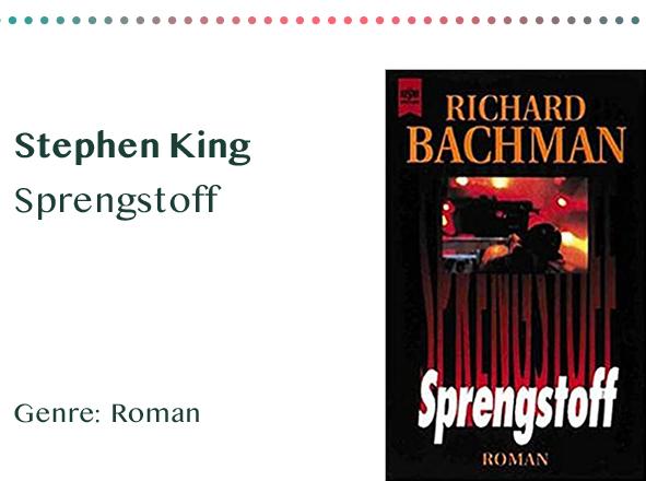 sammlung_rezensionen__0032_Stephen King Sprengstoff Genre_ Roman Kopie