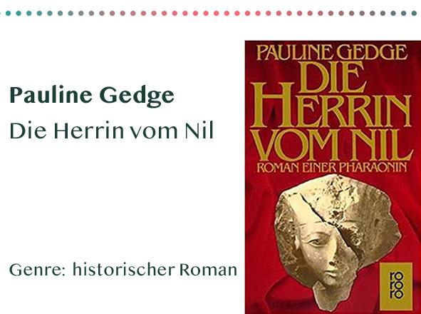 sammlung_rezensionen__0039_Pauline Gedge Die Herrin vom Nil Genre_ historischer Roman Kopie