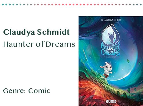sammlung_rezensionen__0042_Claudya Schmidt Haunter of Dreams Genre_ Comic Kopie