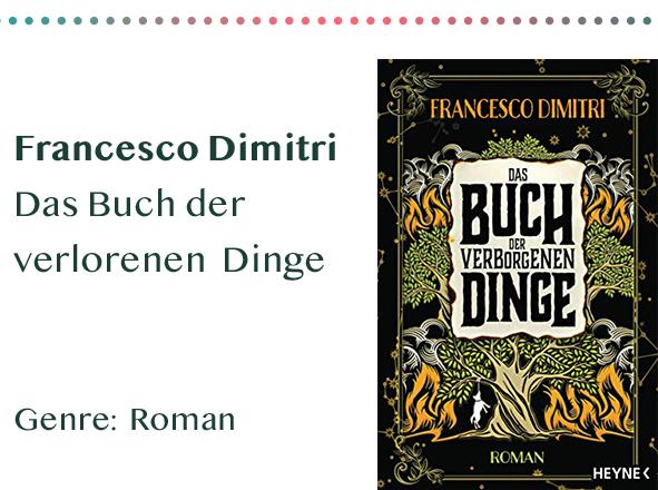 sammlung_rezensionen__0064_Francesco Dimitri Das Buch der verlorenen Dinge Genre_ Roman Kopie