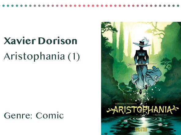 sammlung_rezensionen__0066_Xavier Dorison Aristophania (1) Genre_ Comic Kopie