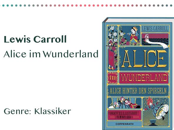 sammlung_rezensionen__0071_Lewis Carroll Alice im Wunderland Genre_ Klassiker