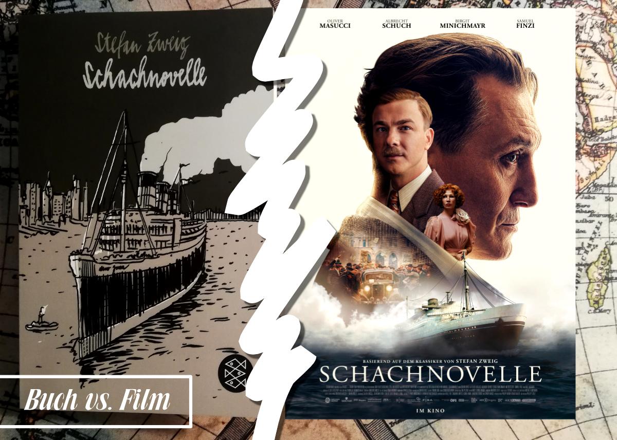 [Buch vs. Film] Die Schachnovelle von Stefan Zweig – mit Gewinnspiel!